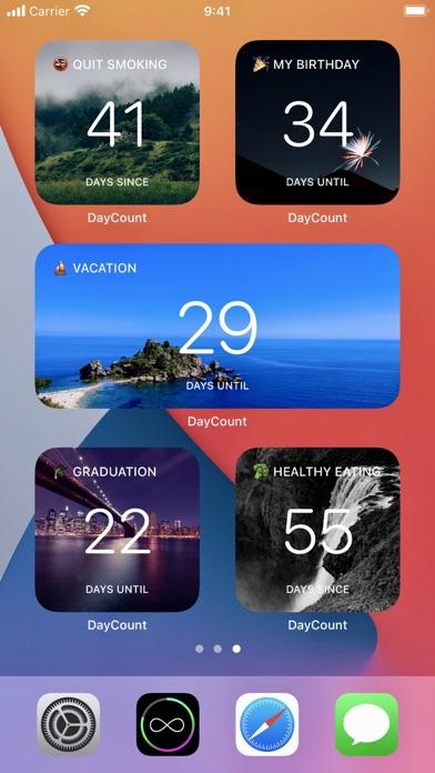 DayCount iphone screenshot 2