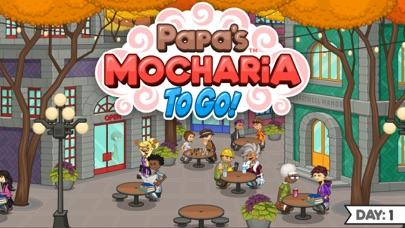 Papa's Mocharia To Go! iphone screenshot 1