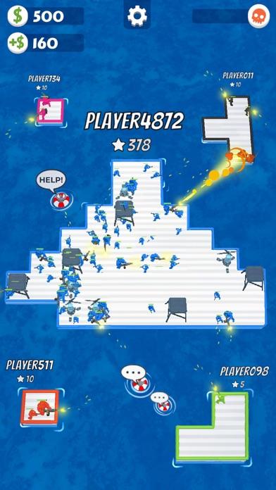 War of Rafts: Naval Battle iphone screenshot 4