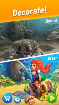 Fishdom iphone screenshot 2