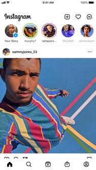 Instagram iphone screenshot 1
