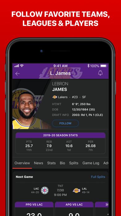 How to cancel & delete ESPN: Live Sports & Scores 2