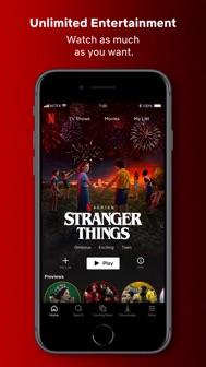 Netflix iphone screenshot 1