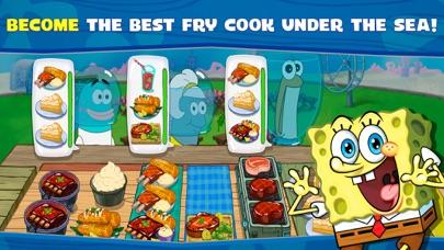 SpongeBob: Krusty Cook-Off iphone screenshot 1