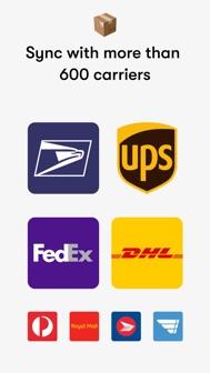 Shop: package & order tracker iphone screenshot 4
