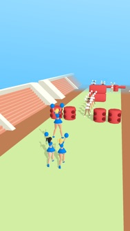 Cheerleader Run 3D iphone screenshot 2