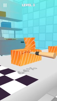 Sushi Roll 3D - ASMR Food Game iphone screenshot 3