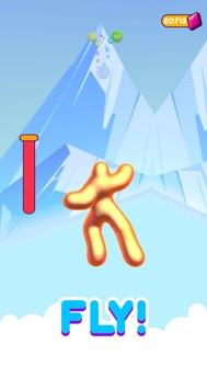 Blob Runner 3D iphone screenshot 2