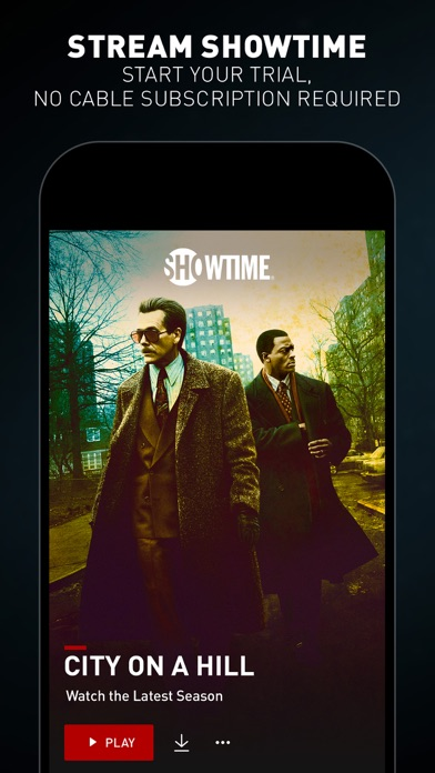 SHOWTIME: TV, Movies and More iphone screenshot 1