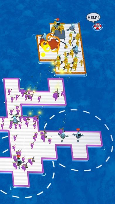 War of Rafts: Naval Battle iphone screenshot 3