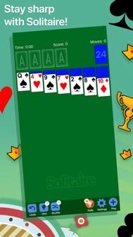Solitaire· iphone screenshot 1