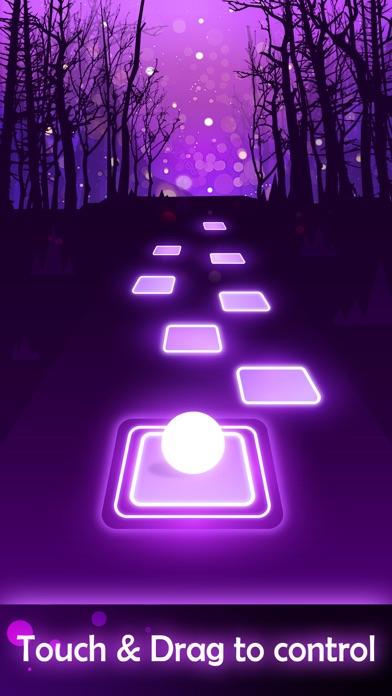 Tiles Hop - EDM Rush iphone screenshot 1