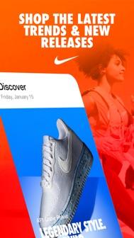 Nike iphone screenshot 1