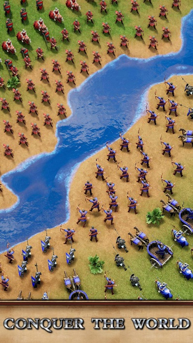 Rise of Empires: Fire and War iphone screenshot 4