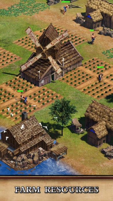 Rise of Empires: Fire and War iphone screenshot 2
