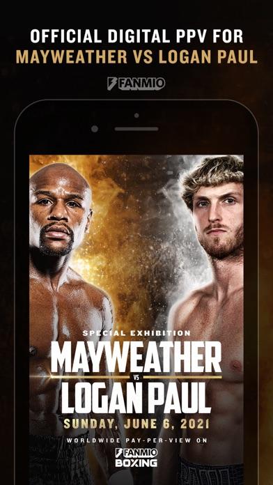 Fanmio Boxing iphone screenshot 1
