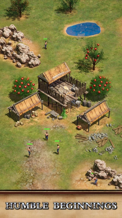 Rise of Empires: Fire and War iphone screenshot 1
