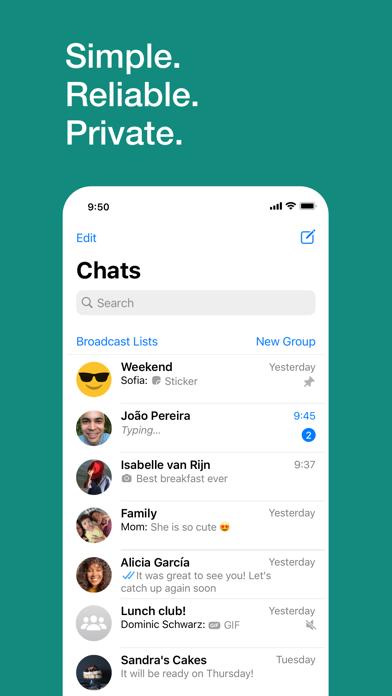 How to cancel & delete WhatsApp Messenger 3