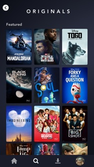 Disney+ iphone screenshot 2