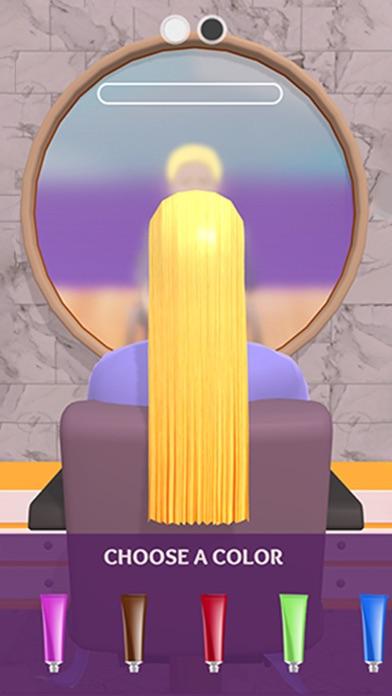 Hair Dye! iphone screenshot 2
