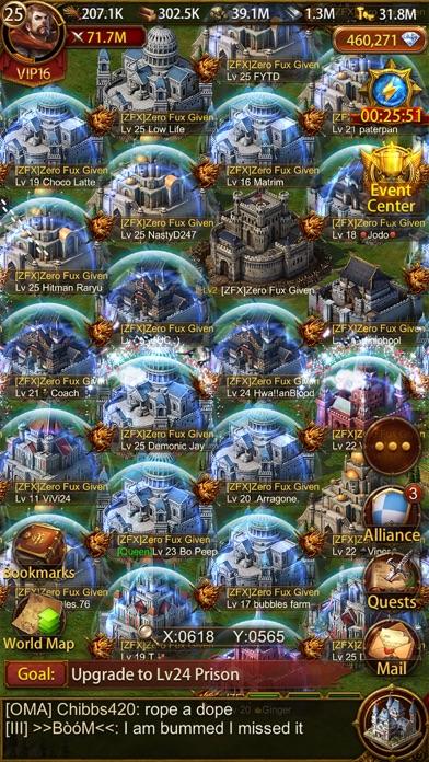Evony iphone screenshot 4