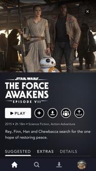 Disney+ iphone screenshot 3