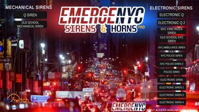 EmergeNYC Sirens & Horns Pro iphone screenshot 1