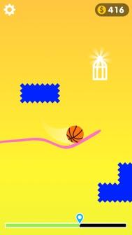 Draw The Line 3D iphone screenshot 1