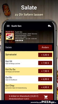 Sushi Sen München iphone screenshot 2