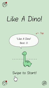 Like A Dino! iphone screenshot 1