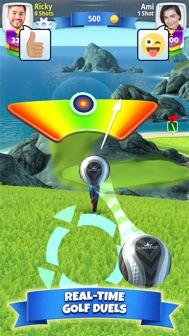 Golf Clash iphone screenshot 1
