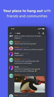 Discord - Talk, Chat & Hangout iphone screenshot 1