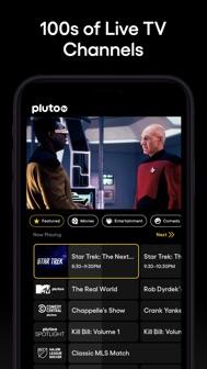 Pluto TV - Live TV and Movies iphone screenshot 1