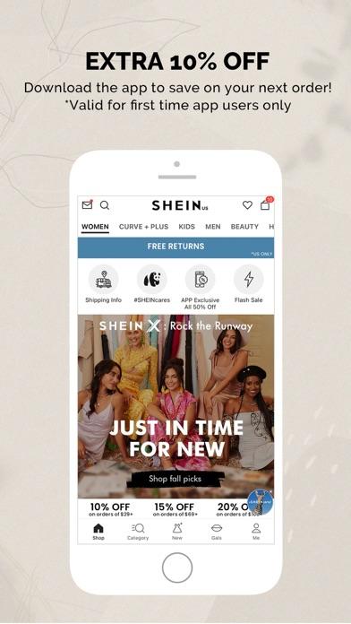 SHEIN - Online Fashion iphone screenshot 4