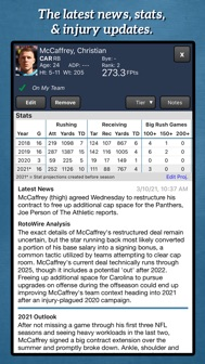 Fantasy Football Draft Kit '21 iphone screenshot 3