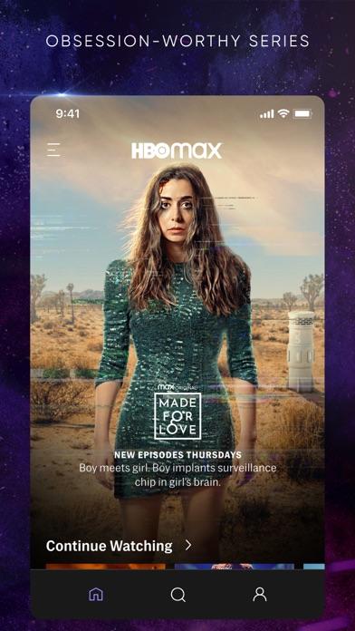 HBO Max: Stream TV & Movies iphone screenshot 2