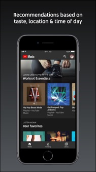 YouTube Music iphone screenshot 2