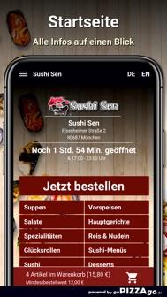 Sushi Sen München iphone screenshot 3