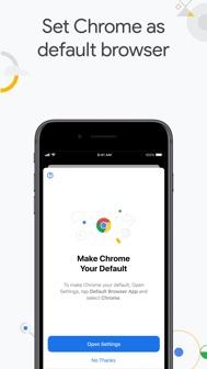 Google Chrome iphone screenshot 2