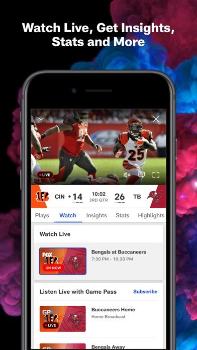 NFL iphone screenshot 4