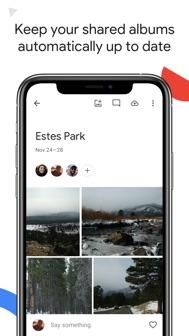 Google Photos iphone screenshot 4