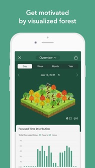 Forest - Your Focus Motivation iphone screenshot 4