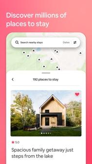 Airbnb iphone screenshot 1