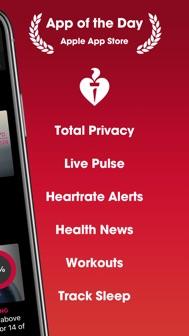 HeartWatch: Heart Rate Monitor iphone screenshot 3