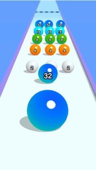Ball Run 2048 iphone screenshot 3